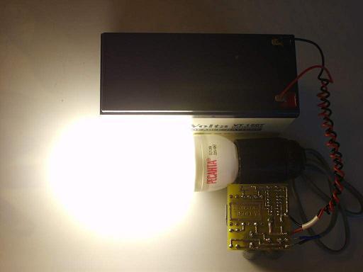 Данный преобразователь используется для питания ламп дневного света (ЛДС) с электронным баластом.