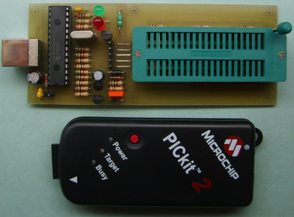 Универсальный программатор для микроконтроллеров avr и pic