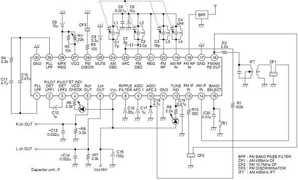 Электроника.  Схема mar 616u.  Электродвигатели.  Бытовая техника. схема.  Электроприборы.  Схема usb сом.