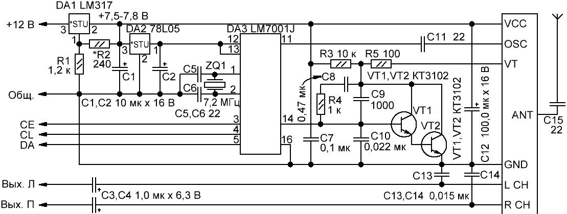 Итак, Вы решили использовать в своем приемнике (конструкции) схему цифрового синтезатора частоты.